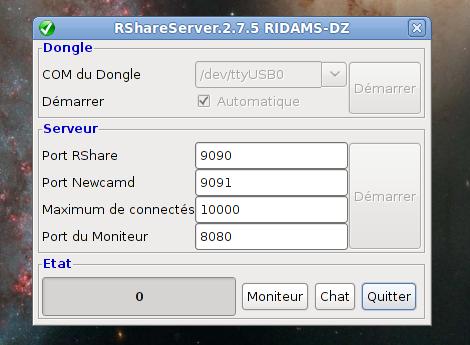 serveur rshare 2.7.5